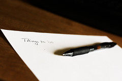 To do list by dmachiavello on Flickr