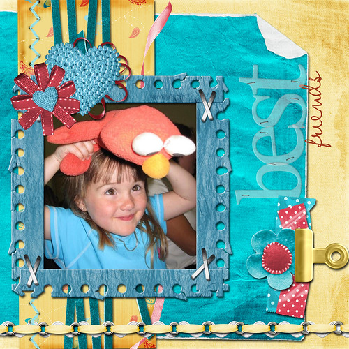 Sweet Flora 12x12 Layout