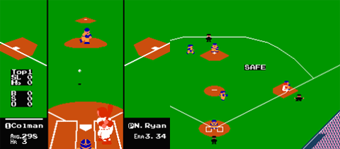 RBI Baseball, NES, 1987