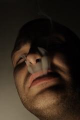 Smoke (Mistapurple) Tags: portrait retrato cigarette smoke tabac taste vibes fumar humo tobacco tabaco mortal cigarro fumer cigaret lethal fumée mortel