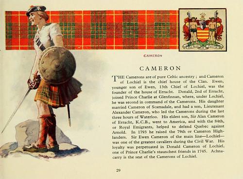 001-Clan Cameron