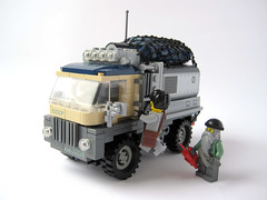 RC PF Truck (nolnet) Tags: truck lego minifig pf overpowered powerfunctions