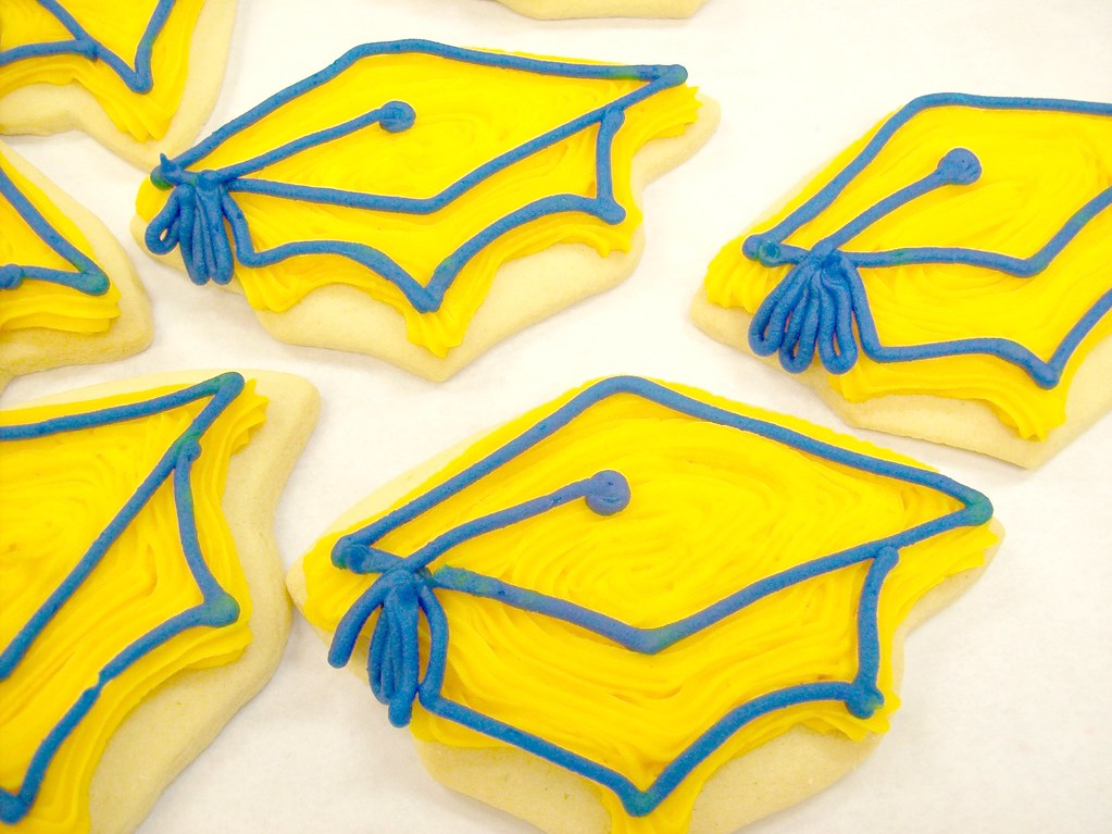 Graduation Cut Out Cookies