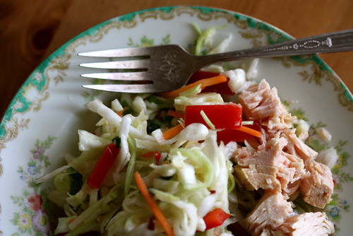 Sweet and Spicy Cabbage Salad