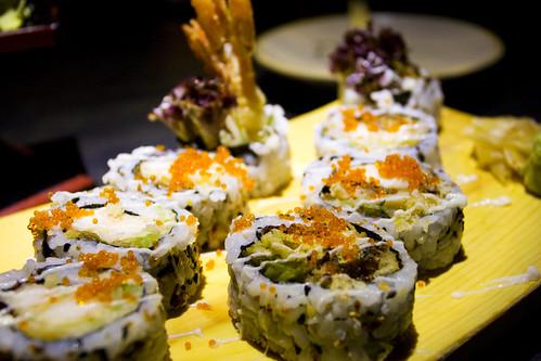 Soft Shell Crab Maki & Ebi Tempura Maki