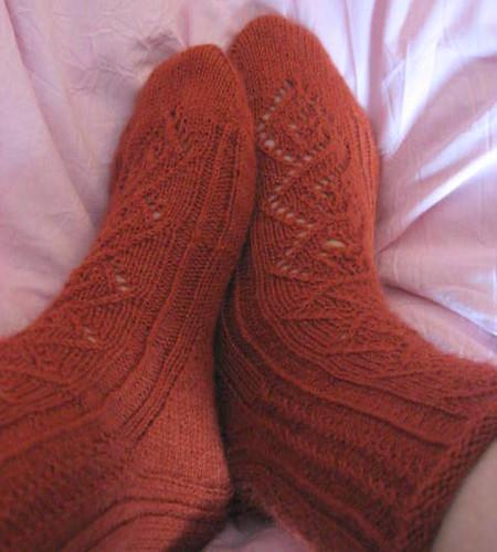 Lyra's socks