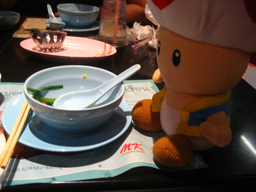 Toad and delicious soup at MK