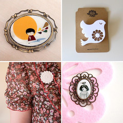 Wish List Brooches