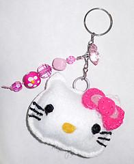 Hello Kitty (Laylla Calais) Tags: hellokitty feltro chaveiro