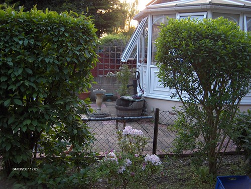 Indian Sandstone Patio and Lawn Image 5