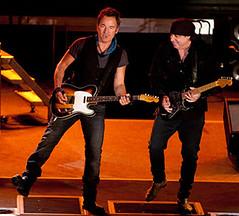 Bruce Springsteen & Steven Van Zandt of the E Street Band -- 3/23/09 Convention Hall, Asbury Park, New Jersey [copyright Michael Zorn]