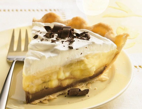 Black Bottom Banana Cream Pie Recipe