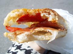 speckoroni sandwich @ sullivan street bakery