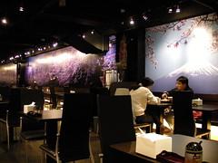 永和捷運美食館內-銀座拉麵
