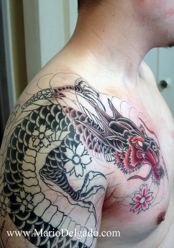 Tags Dragon head asian dragon head black dragon red dragon asian tattoo