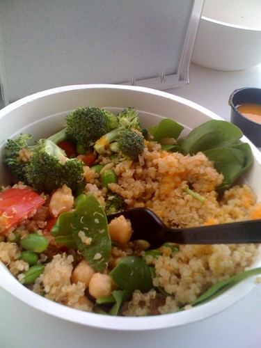 superfood bowl at go-go's