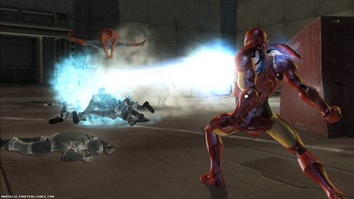 Marvel Ultimate Alliance 2 poder Iron Man