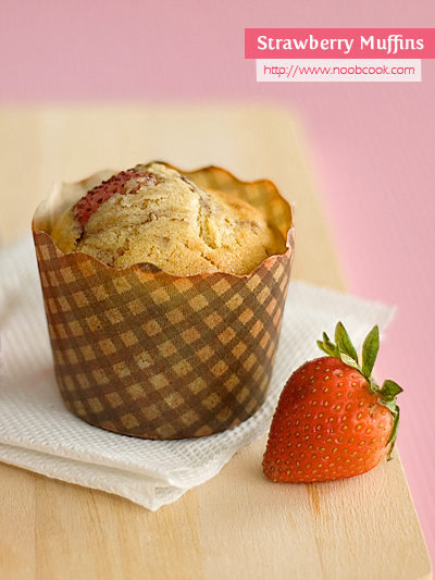 Delicious strawberry muffin recipes