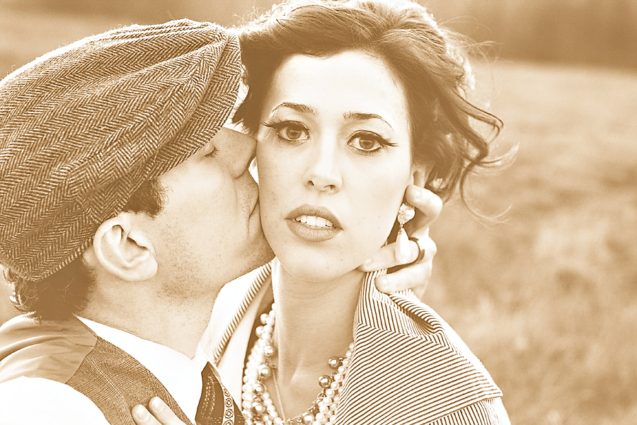 Adam and Lauren - Vintage Editorial Shoot