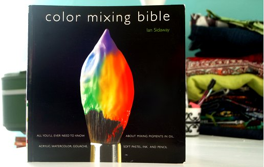 craftyhues: Fabric Ink & Color Theory {new goodies}