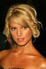 (barhey) Tags: 2005 red party celebrity carpet jessica country tan singer actress davis clive simpson