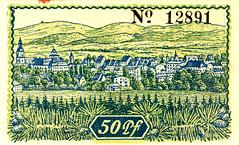 Mittenwalde, 50 pf, 1919 (Iliazd) Tags: germany inflation notgeld papermoney germancurrency 19171923emergencycurrencyemergencymoney germanpapermoney