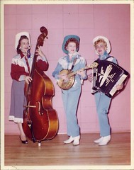 Even Cowgirls Get the Blues (wackystuff) Tags: musician bass banjo cowgirl accordian