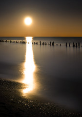 Rising Moon on Erie (Explored) (Insight Imaging: John A Ryan Photography) Tags: longexposure toronto ontario night lakeerie fullmoon rise aficionados erieau chathamkent pentaxk10d wwwinsightimagingca johnaryanphotography