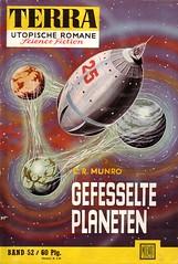 Terra 052 (micky the pixel) Tags: sf raumschiff scifi sciencefiction spaceship terra planeten zukunftsromane groschenromane kurtbrand moewigverlag crmunro gefesselteplaneten