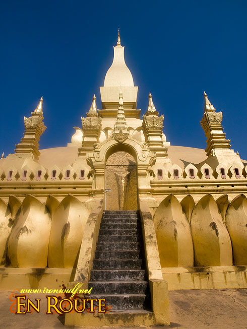 Pha That Luang Gates and Spires