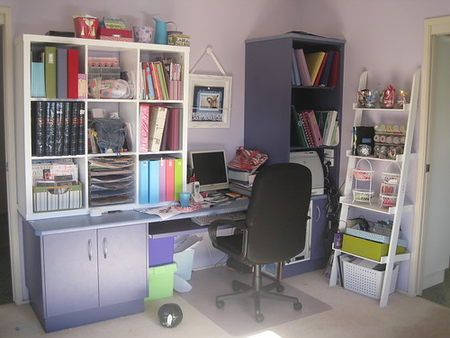 The other side of the scrapbook room