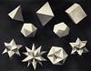 Mathematical Models (ouno design) Tags: blackandwhite geometric layout book photo pyramid geometry polyhedron polyhedra pyramidal platonicsolids mathematicalmodels stellatedpolyhedra greatpolyhedron