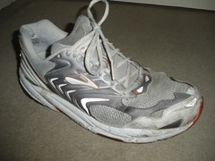 Retired Brooks Beast shoe (asicsneakers) Tags: old shoe shoes sneakers used worn sneaker beast runners brooks trashed sneaks