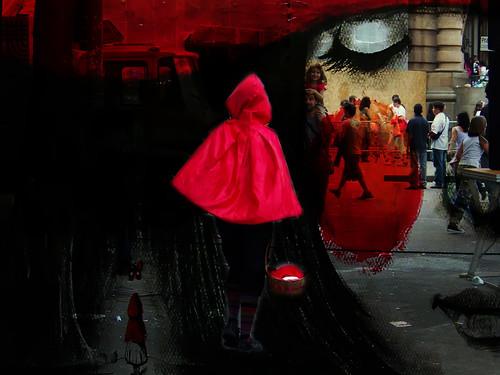 Chapeuzinho na Virada Cultural by kassá