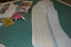 Vogue 8259 - Pad stitching