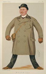 "Mr. Harry McCalmont, ""Mr. H.L.B. McCalmont"" (CCNY Libraries) Tags: portrait england horses male art print army klein military hats parliament spy caricature politician horseracing ccny yachting lithograph vanityfair nac citycollegeofnewyork lesliematthewward harryleslieblundellmccalmont"