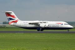 British Airways - BAe 146 - G-BZAZ