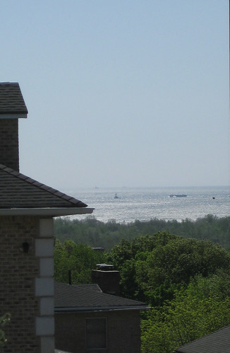 View of Raritan Bay from Dongan Hills Colony