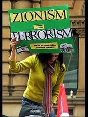 Zionism equals terrorism