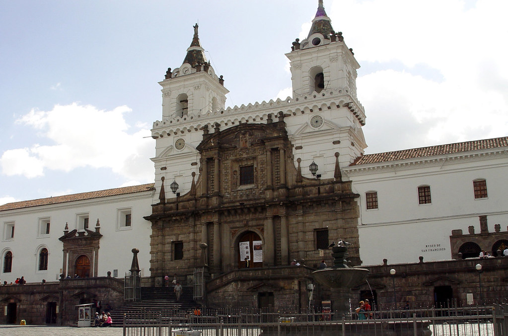 DSC00729 San Francisco church Quito Ecuador