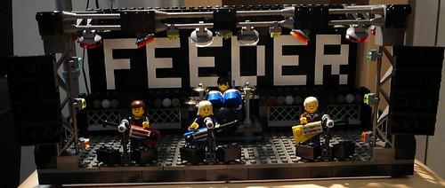 Feeder Lego custom minifig band