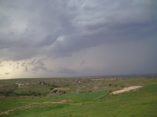 Texas Thunderstorm east of Amarillo