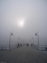 ...Gdynia Orłowo... (anka.anka28) Tags: mist fog pier poland polska explore molo gdynia orłowo mgła pomorze