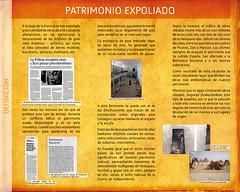 """Panel 6, Exposición """"S.O.S. Patrimonio"""""""