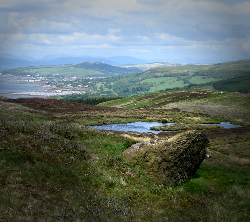 Largs from the moor