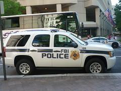 FBI Police Chevy Tahoe