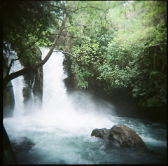 (inmost_light) Tags: film waterfall holga sieben fountainofyouth