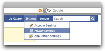 Facebook | Search Privacy
