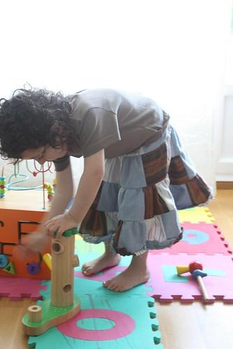 patchwork skirt 1