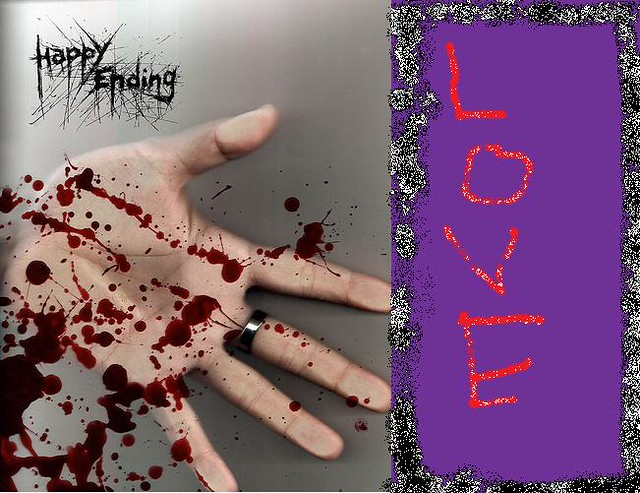 emo love blood